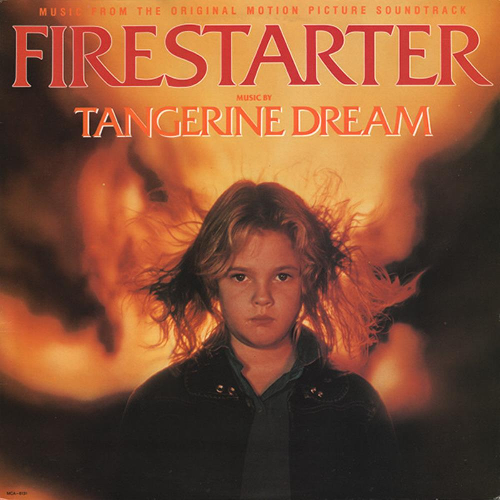 Tangerine Dream Firestarter (OST) album cover