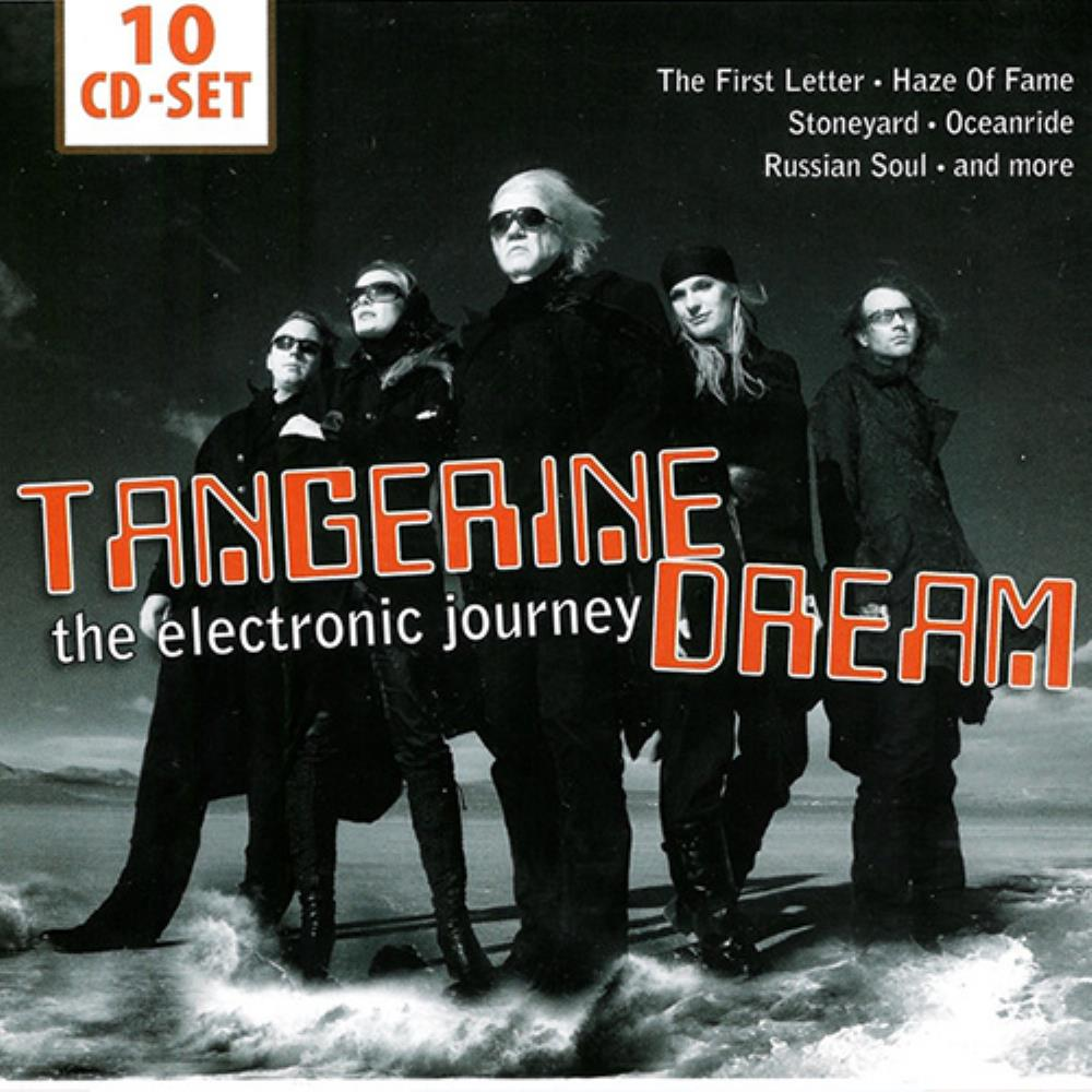 Tangerine Dream The Electronic Journey album cover