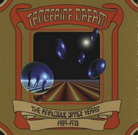 Tangerine Dream The Analogue Space Years album cover