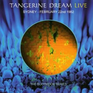 Tangerine Dream Sydney - February 22nd 1982 album cover