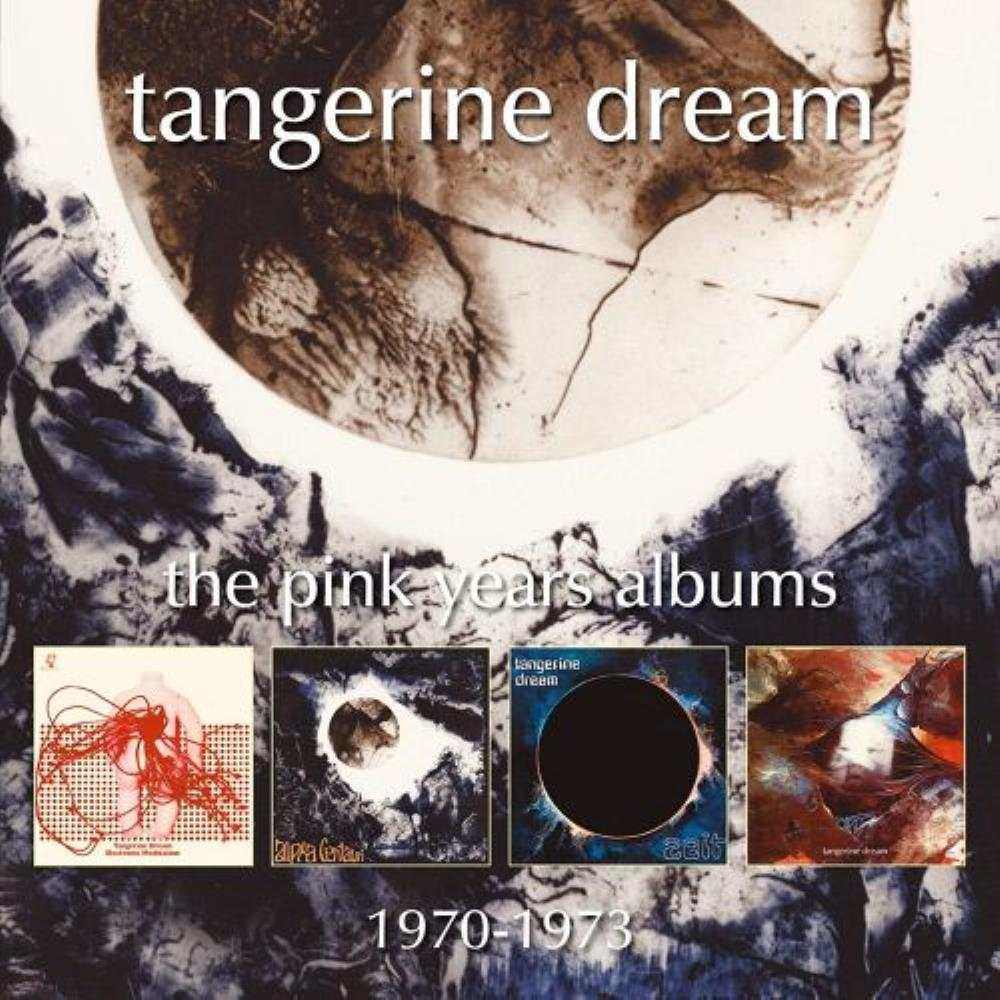 The Pink Years Albums 1970-1973 by TANGERINE DREAM album cover