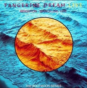 Tangerine Dream Brighton - March 25th 1986 album cover