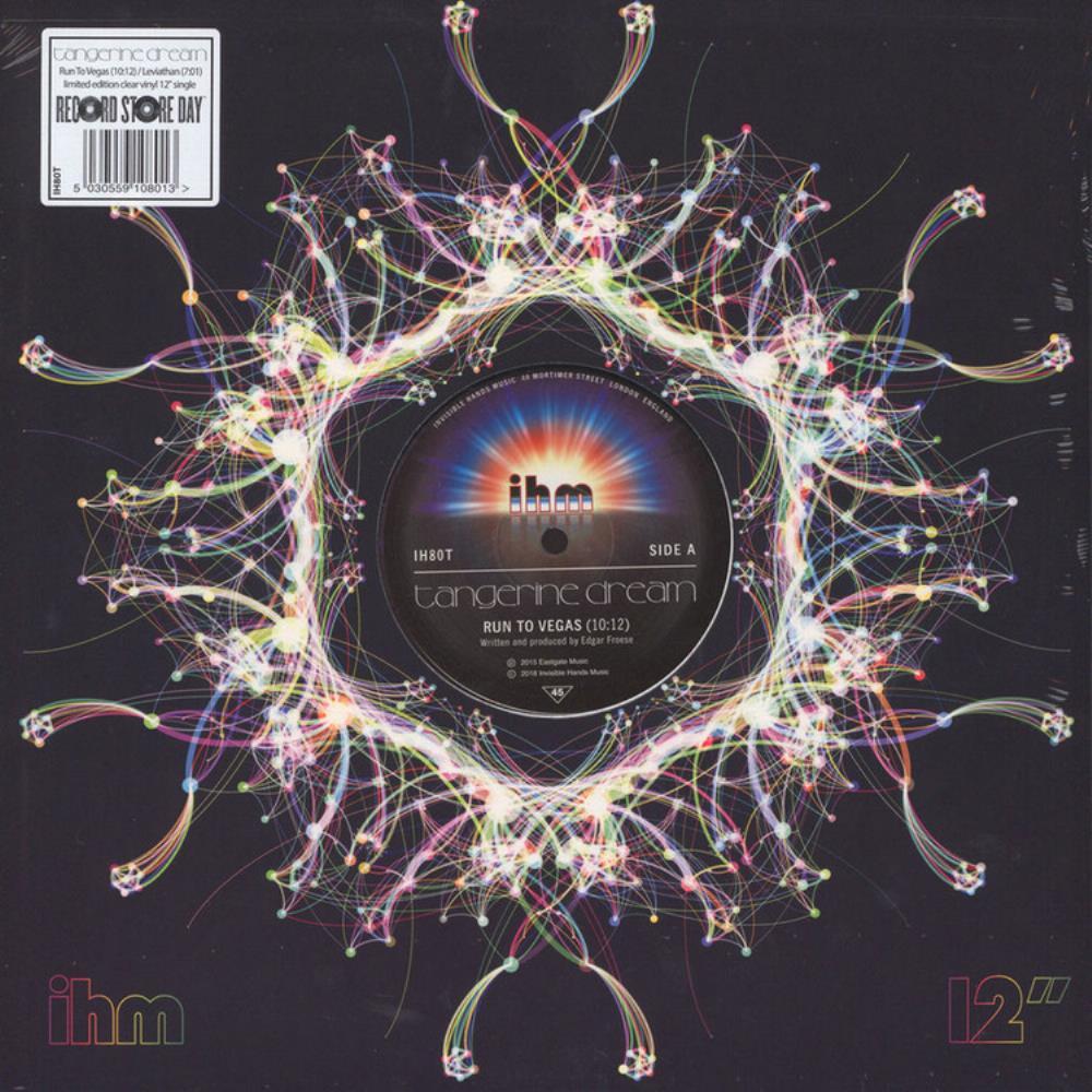 Run To Vegas/Leviathan by Tangerine Dream album rcover