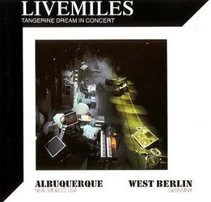 Tangerine Dream - Livemiles CD (album) cover