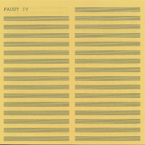Faust IV by FAUST album cover