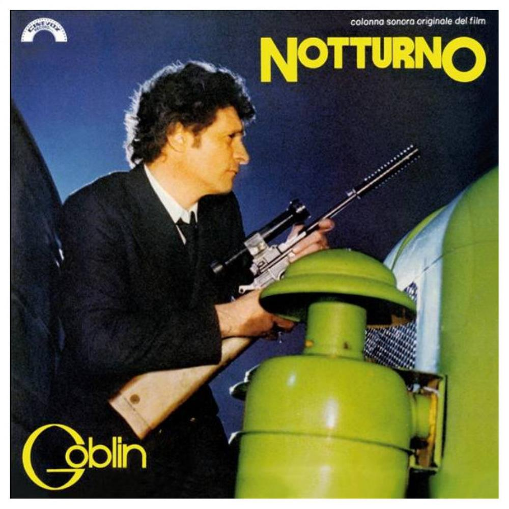Goblin - Notturno (OST) CD (album) cover