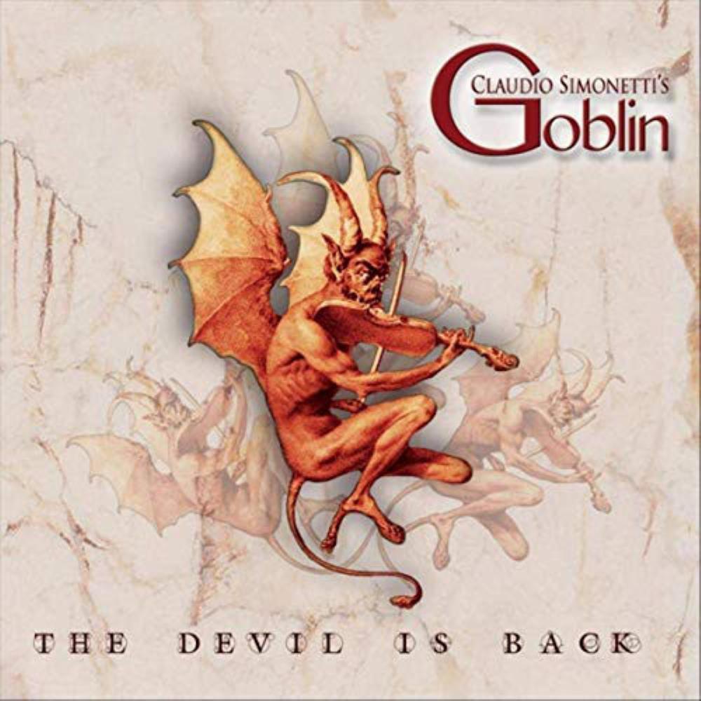 Claudio Simonetti's Goblin: The Devil Is Back by GOBLIN album cover