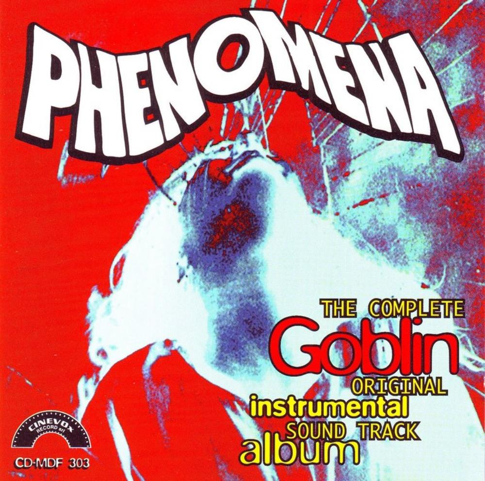 Goblin - Phenomena  (OST) CD (album) cover