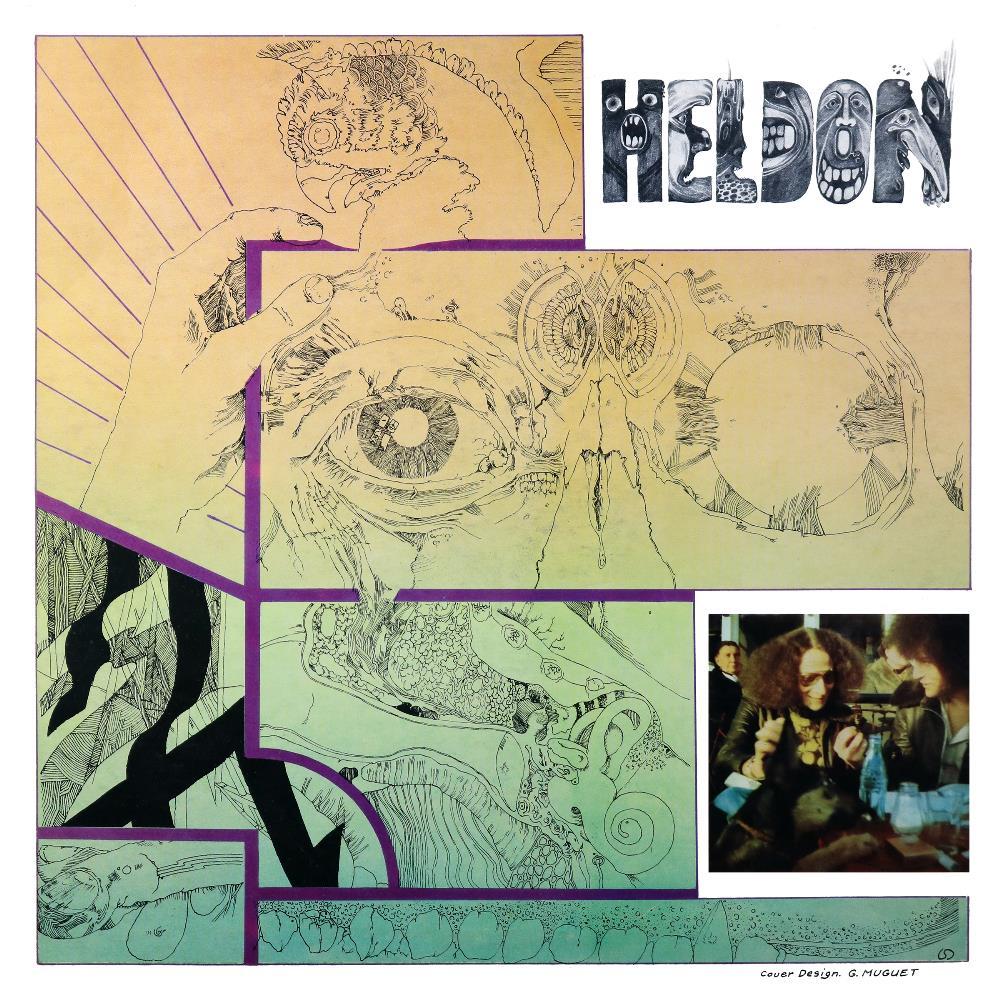 Électronique Guérilla by HELDON album cover