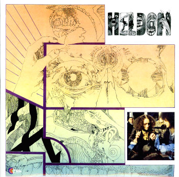 Heldon - �lectronique Gu�rilla CD (album) cover