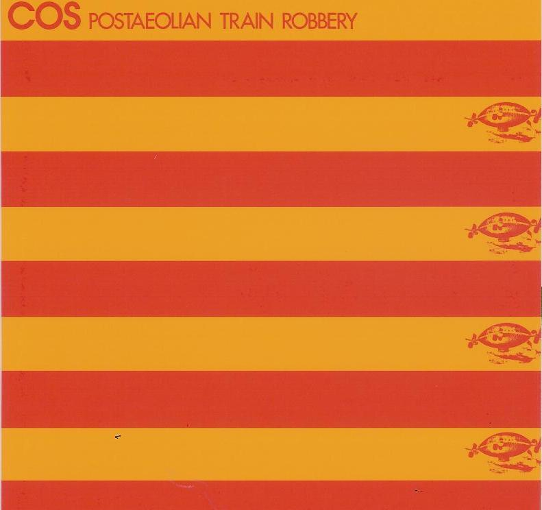 Cos Postaeolian Train Robbery album cover
