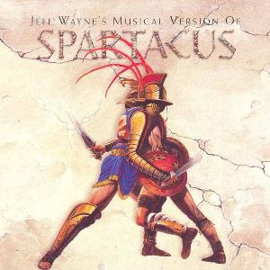 Jeff Wayne - Spartacus CD (album) cover