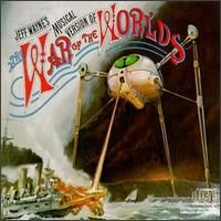 Jeff Wayne The War Of The Worlds album cover