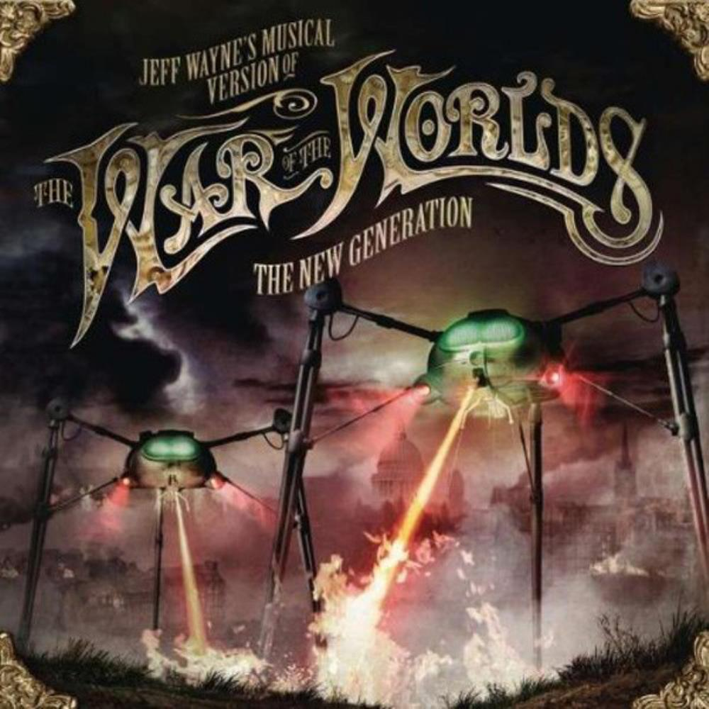 Jeff Wayne - The War Of The Worlds - The New Generation CD (album) cover