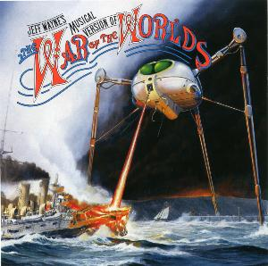 Jeff Wayne - The War Of The Worlds CD (album) cover