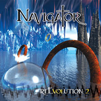 Navigator - reEvolution Volume 2  CD (album) cover