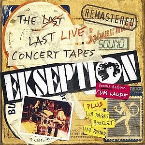 Ekseption The Lost Last Live Concert Tapes album cover