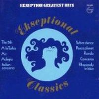 Ekseption - Ekseptional Classics - The Best Of Ekseption CD (album) cover