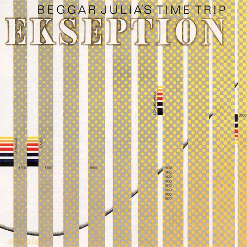 Ekseption - Beggar Julias Time Trip  CD (album) cover