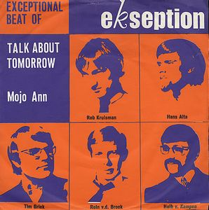 Talk About Tomorrow by EKSEPTION album cover