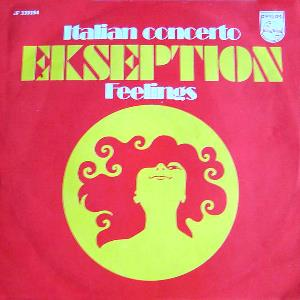 Ekseption Italian Concerto album cover
