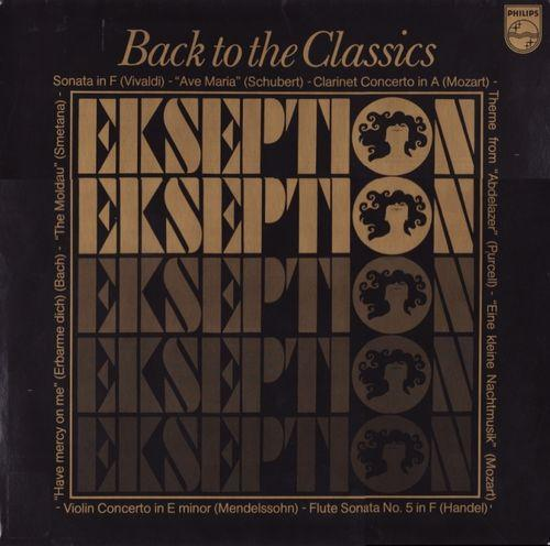 Back To The Classics by EKSEPTION album cover