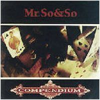 Mr. So & So - Compendium CD (album) cover