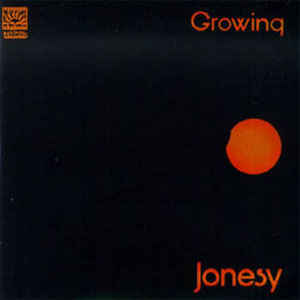 Jonesy - Growing CD (album) cover