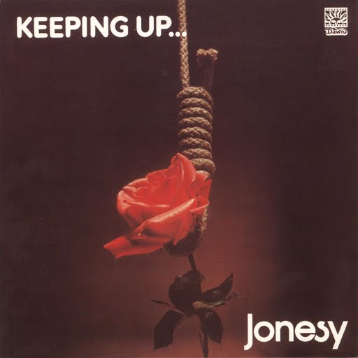 Jonesy - Keeping Up CD (album) cover