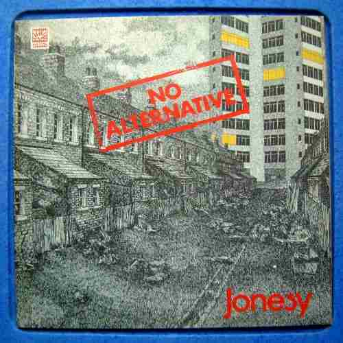 Jonesy - No Alternative CD (album) cover