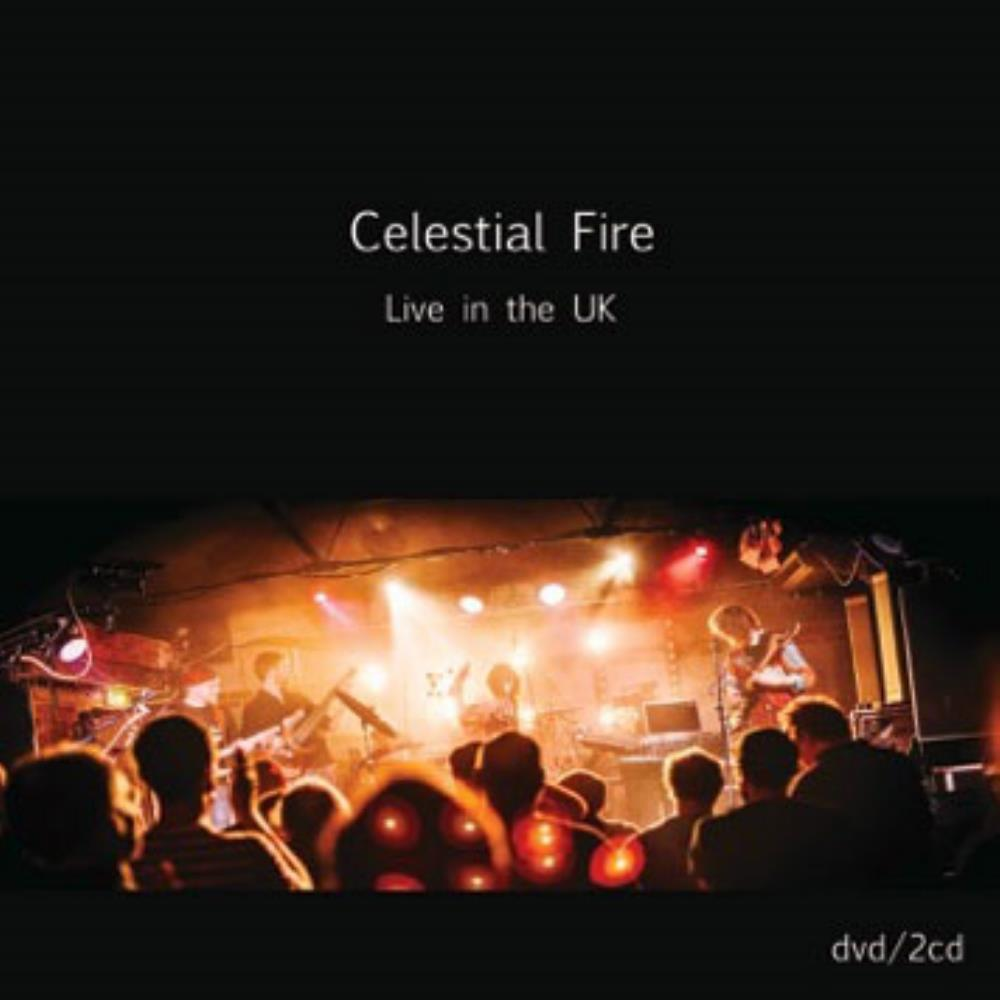 Dave Bainbridge Celestial Fire - Live in the UK album cover