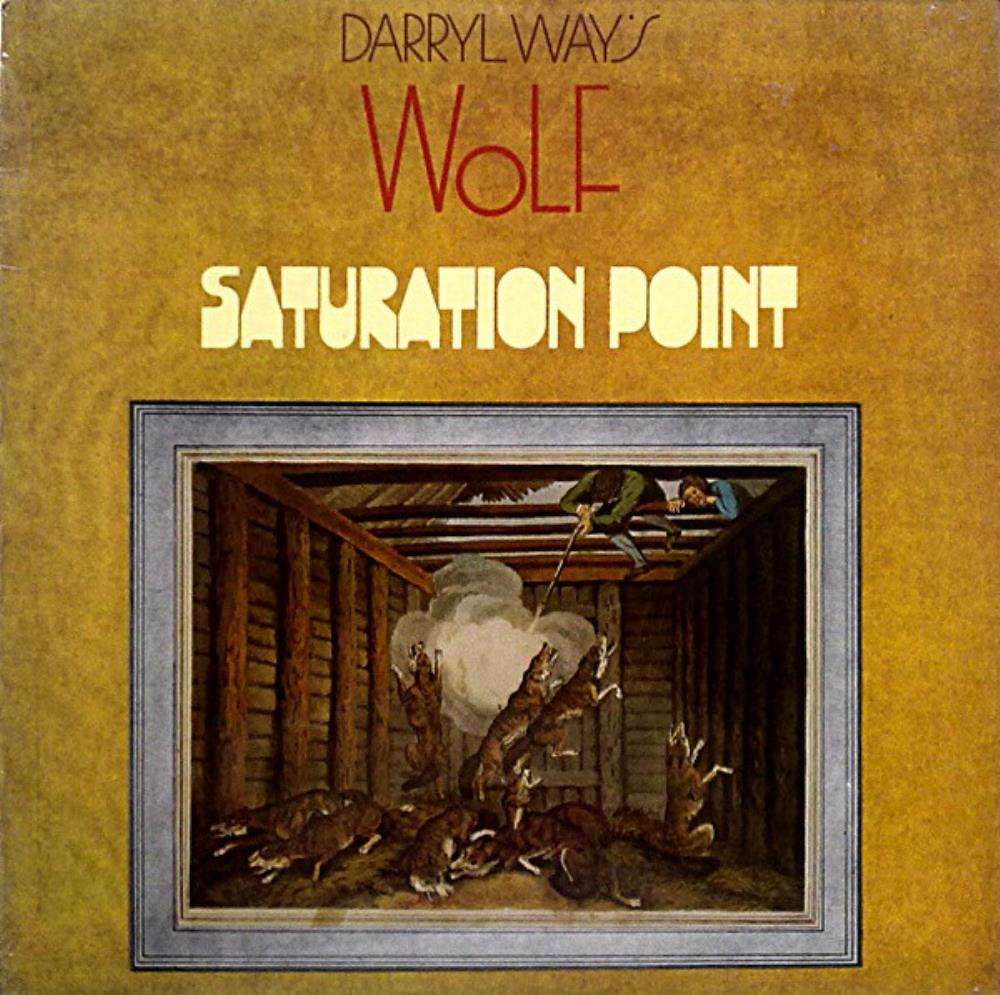 Wolf - Saturation Point CD (album) cover