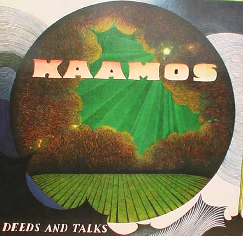 Kaamos - Deeds and Talks CD (album) cover