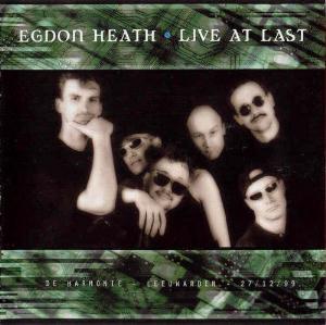 Live at Last by EGDON HEATH album cover