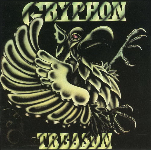 Gryphon - Treason CD (album) cover