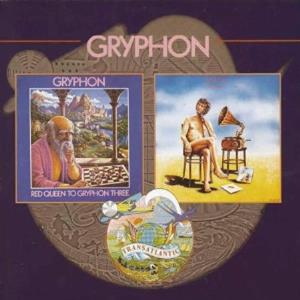 Gryphon Red Queen To Gryphon Three & Raindance album cover