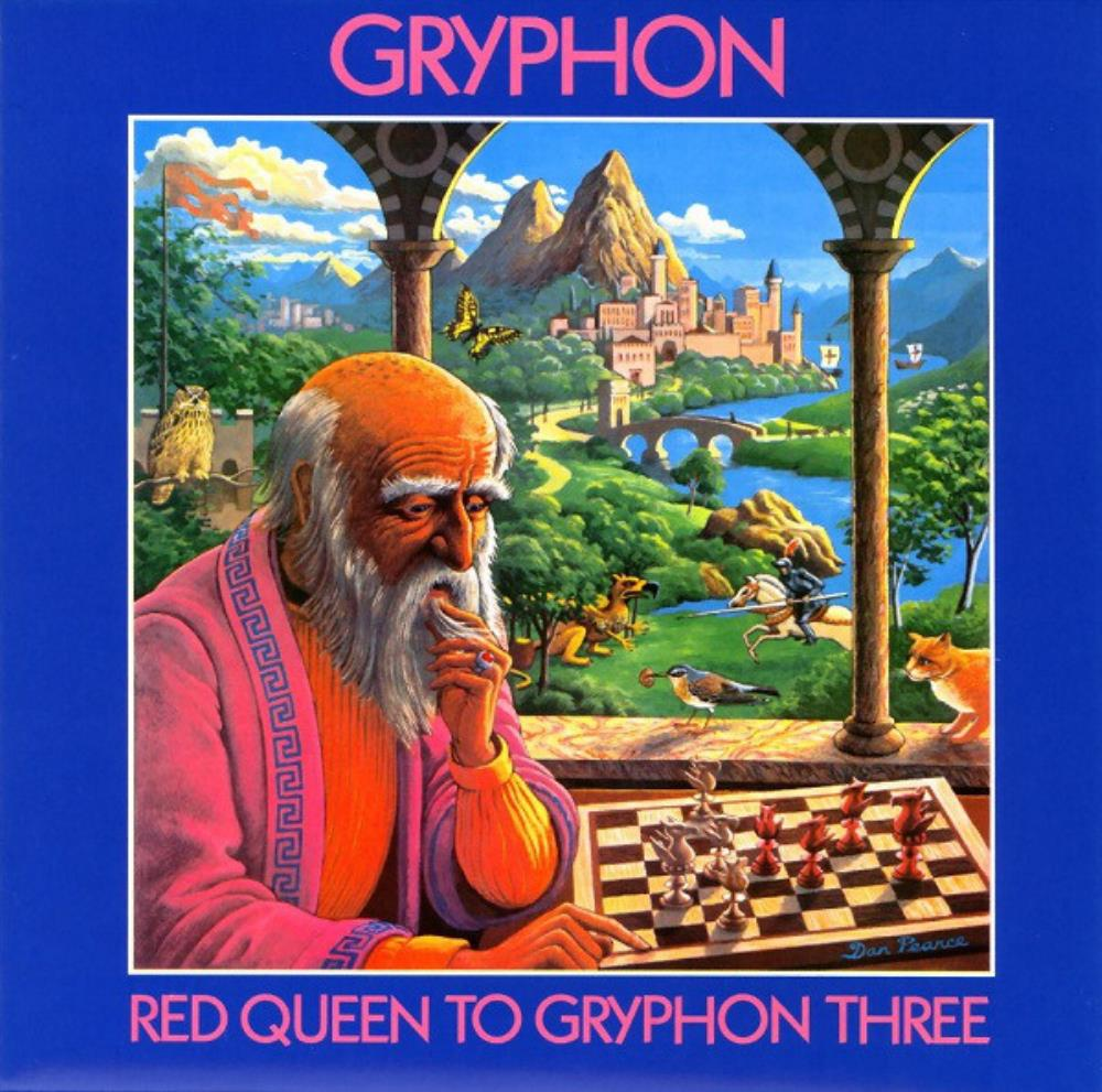 Gryphon - Red Queen To Gryphon Three CD (album) cover