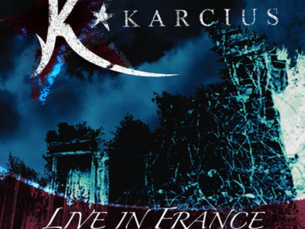 Karcius - Live in France CD (album) cover