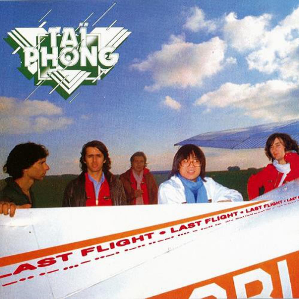 Last Flight by TAÏ PHONG album cover