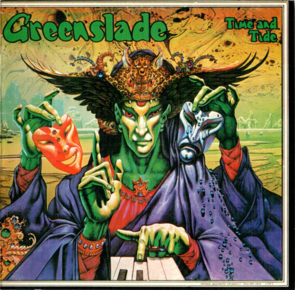 Time And Tide by GREENSLADE album cover