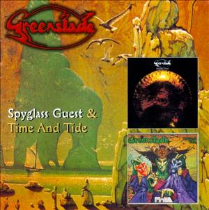 Greenslade Spyglass Guest  & Time and Tide album cover