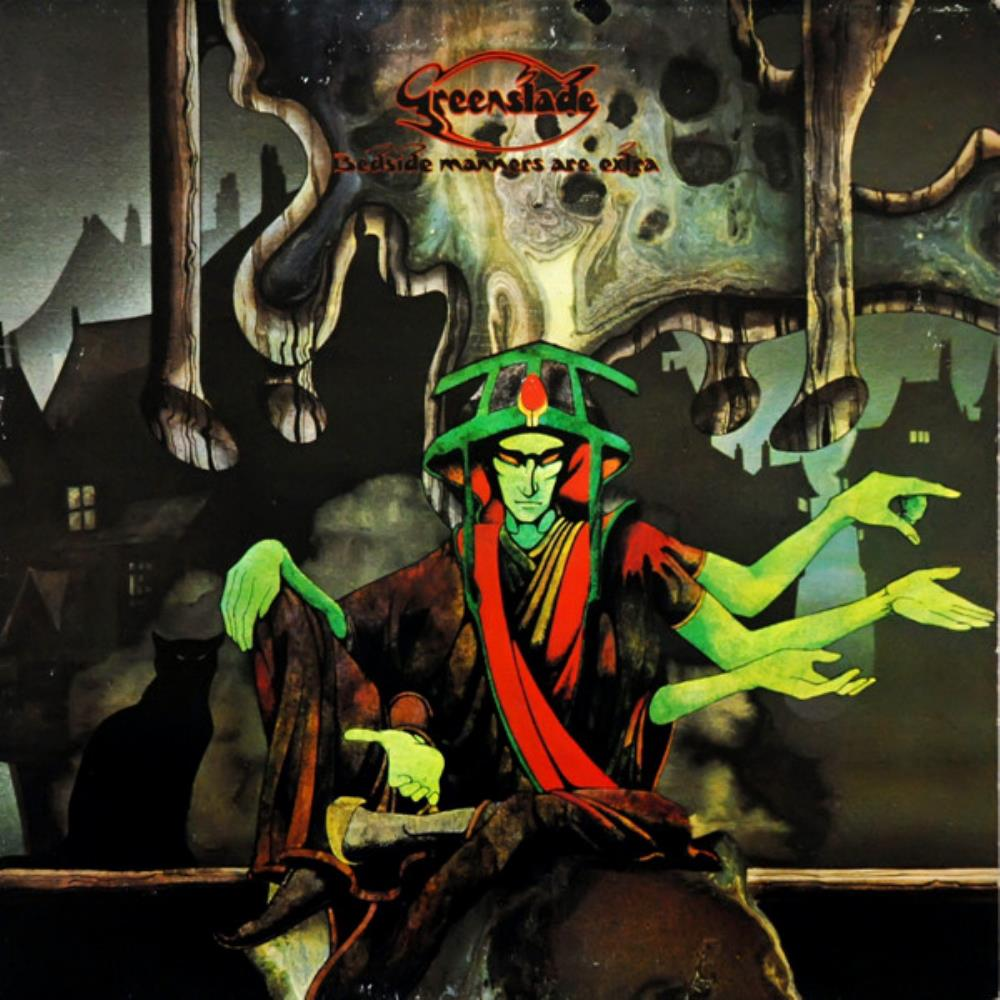 Greenslade - Bedside Manners Are Extra CD (album) cover