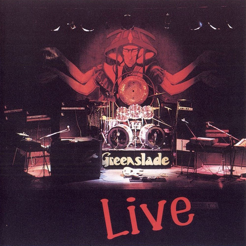 Greenslade Live 1973-75 album cover