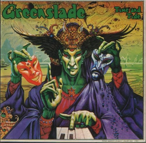 Greenslade - Time and Tide CD (album) cover