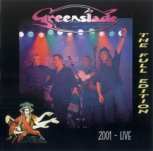 Greenslade - Live 2001 - The Full Edition CD (album) cover
