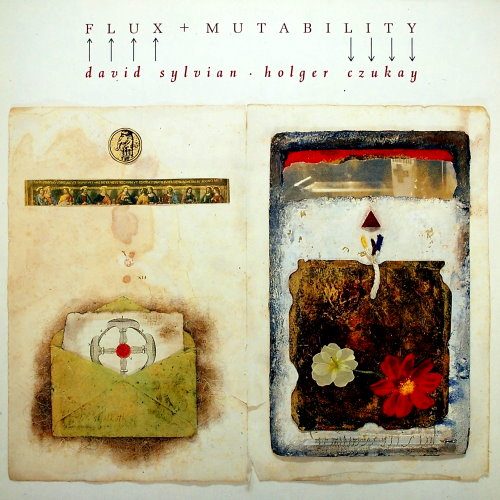 David Sylvian - Flux + Mutability (with Holger Czukay) CD (album) cover