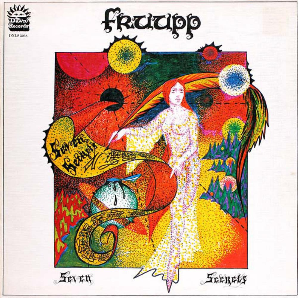 Fruupp - Seven Secrets CD (album) cover