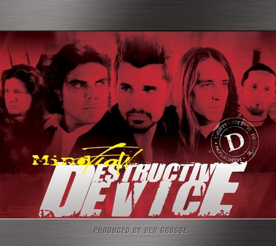 Mindflow - Destructive Device CD (album) cover