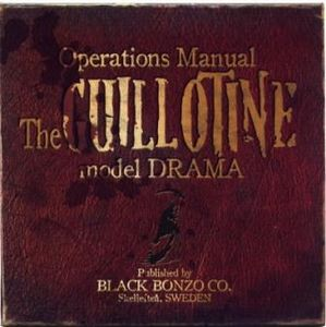 Black Bonzo Operation Manual - The Guillotine Model Drama album cover