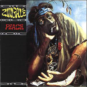Zingale - Peace CD (album) cover